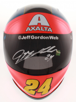 Jeff Gordon Signed NASCAR Axalta Rainbow Special Edition Full-Size Helmet (Gordon Hologram) at PristineAuction.com