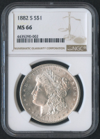 1882-S $1 Morgan Silver Dollar (NGC MS 66) at PristineAuction.com