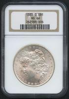 1885-O $1 Morgan Silver Dollar (NGC MS 66) at PristineAuction.com