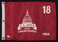 Rory Mcllroy Signed 2011 US Open Golf Pin Flag (JSA COA) at PristineAuction.com