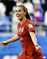 Alex Morgan Signed Team USA Soccer 16x20 Photo (JSA COA) at PristineAuction.com