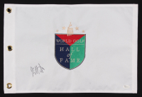 "Bubba Watson Signed ""World Golf Hall of Fame"" Golf Pin Flag (JSA COA) at PristineAuction.com"