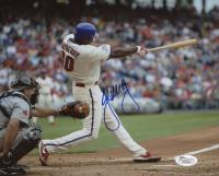 John Mayberry Jr. Signed Philadelphia Phillies 8x10 Photo (JSA COA)