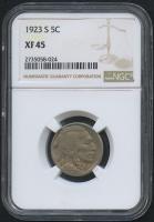 1923-S 5¢ Buffalo Nickel (NGC XF 45) at PristineAuction.com