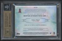 2019 Topps Inception Patch Autographs #IAPMT Mike Trout #05/15 (BGS 9.5) at PristineAuction.com