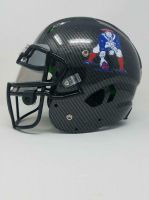 Tom Brady Signed New England Patriots Limited Edition Custom Hydro Dipped Full-Size Authentic On-Field Helmet (Tristar Hologram & Steiner Hologram) at PristineAuction.com