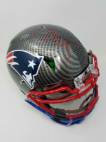 Tom Brady Signed New England Patriots Limited Edition Custom Hydro Dipped Full-Size Authentic On-Field Helmet (Tristar Hologram & Steiner Hologram)
