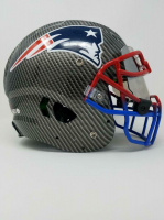 Tom Brady Signed New England Patriots LE Custom Hydro Dipped Full-Size Authentic On-Field Helmet (Tristar Hologram & Steiner Hologram) at PristineAuction.com