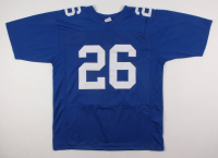 Saquon Barkley Signed Jersey (Beckett COA) at PristineAuction.com