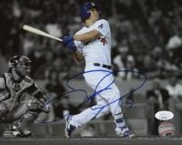 Joc Pederson Signed Los Angeles Dodgers 8x10 Photo (JSA COA)