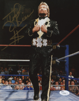 "Ted DiBiase Signed WWE 8x10 Photo Inscribed ""$"" (JSA COA)"