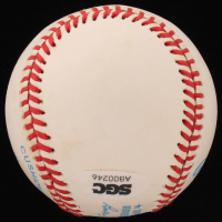 Mickey Mantle Signed OAL Baseball with Display Case (SGC Hologram) at PristineAuction.com