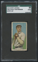 1909-11 T206 #309 Christy Mathewson / White Cap - Sweet Caporal (SGC 2)