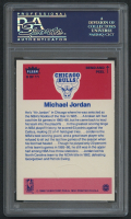 1986-87 Fleer Stickers #8 Michael Jordan RC (PSA 8) at PristineAuction.com