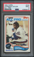 1982 Topps #434 Lawrence Taylor RC (PSA 9) at PristineAuction.com