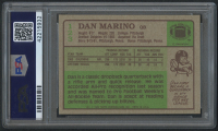1984 Topps #123 Dan Marino PB RC (PSA 9) at PristineAuction.com