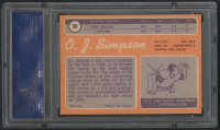 1970 Topps #90 O.J. Simpson RC (PSA 7) at PristineAuction.com