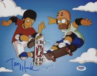 """Tony Hawk Signed """"The Simpsons"""" 8x10 Photo (PSA COA)"""