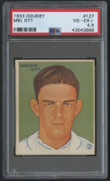 1933 Goudey #127 Mel Ott RC (PSA 4.5) at PristineAuction.com