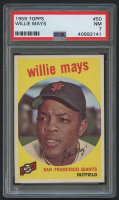 1959 Topps #50 Willie Mays (PSA 7) at PristineAuction.com