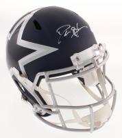 Deion Sanders Signed Dallas Cowboys AMP Alternate Full-Size Speed Helmet (Schwartz COA)