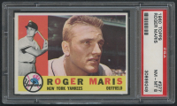 1960 Topps #377 Roger Maris (PSA 8) at PristineAuction.com