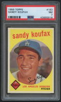 1959 Topps #163 Sandy Koufax (PSA 7) at PristineAuction.com
