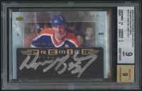 2003-04 UD Premier Collection Signatures #PSG1 Wayne Gretzky (BGS 9) at PristineAuction.com