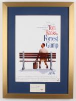 "Tom Hanks Signed ""Forrest Gump"" 17x23 Custom Framed Cut Display (PSA COA)"
