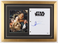 "J.J. Abrams Signed ""Star Wars: The Force Awakens"" 17x23 Custom Framed Movie Script Display (Beckett COA)"