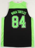"Kevin Eastman Signed ""Teenage Mutant Ninja Turtles"" Jersey with Hand-Drawn Sketch of Ninja Turtle (Beckett COA)"