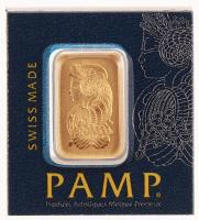 Certified PAMP 999.9 Solid Fine Gold 1 Gram Bar