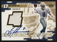 2000 Upper Deck Game Jersey Autographs Gold #TAA Troy Aikman at PristineAuction.com