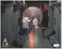 "Carrie Fisher Signed ""Star Wars"" 8x10 Photo (JSA COA)"