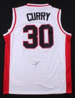 Stephen Curry Signed Davidson Wildcats Jersey (PSA COA)