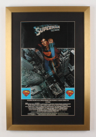 """Superman"" 17x25 Custom Framed Movie Poster Display"