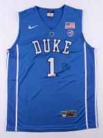 Zion Williamson Signed Duke Blue Devils Jersey (PSA COA)