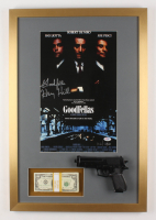 "Henry Hill Signed LE ""Goodfellas"" 19x28 Custom Framed Photo Display Inscribed ""Goodfella"" with Replica Gun & Prop Money (PSA COA)"