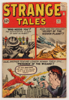 "1962 ""Strange Tales"" #102 Marvel Comic Book"