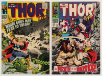 "Lot of (2) 1966-68 ""The Mighty Thor"" Marvel Comic Books with #132 & #152"