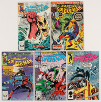 "Lot of (5) 1973-90 ""The Amazing Spider-Man"" Marvel Comic Books with #120, #227, #251, #254, & #342 at PristineAuction.com"