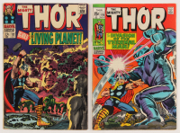 """Lot of (2) 1966-69 """"The Mighty Thor"""" Marvel Comic Books with #133 & #170"""