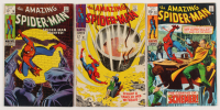 """Lot of (3) 1968-70 """"The Amazing Spider-Man"""" Marvel Comic Books with #61, #70, & #83"""