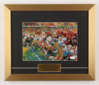 "Joe Montana Signed ""Super Bowl XVI"" San Francisco 49ers 13.5x16 Custom Framed Print Display (JSA COA) at PristineAuction.com"