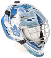 Ed Belfour Signed Toronto Maple Leafs Full-Size Hockey Goalie Mask (Schwartz COA)
