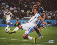 Mario Gotze Signed Team Germany 8x10 Photo (Beckett COA)