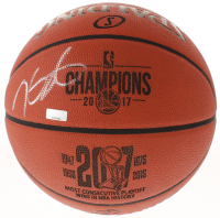 Kevin Durant Signed Golden State Warriors 2017 NBA Champions Official NBA Game Ball (Panini COA)