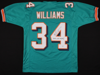 "Ricky Williams Signed Jersey Inscribed ""Smoke Weed Everyday!"" (PSA COA)"