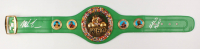 Mike Tyson & Evander Holyfield Signed WBC High Quality Replica Full-Size Belt (JSA COA & Fiterman Sports Hologram)
