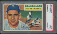 1956 Topps #110 Yogi Berra (PSA 7) at PristineAuction.com